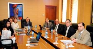 Valdez Albizu recibe a directivos Cámara Minera Petrolera de la RD