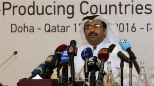El ministro de Energía de Qatar dijo que las consultas continuarían hasta que una reunión de la OPEP en junio