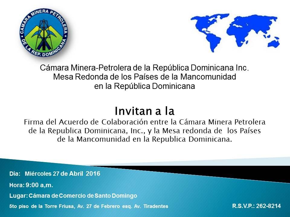 Invitacion Firma Acuerdo Mesa Mancomunidad