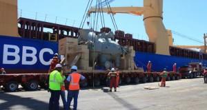 Siguen llegando equipos para plantas a carbón Punta Catalina