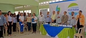 Firman el Pacto de las Aguas en la microcuenca del Río Maimón