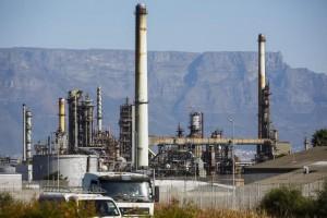 refinería-de-Chevron-en-Ciudad-del-Cabo-en-Sudáfrica
