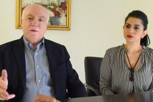 Pedro-Esteva,-presidente-y-Yamily-López,-directora-ejecutiva-de-la-Cámara-Minero-Petrolera-de-la-República-Dominicana