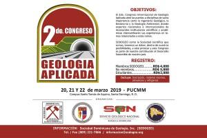 SODOGEO-2do-Congreso-Internacional-de-Geología-Aplicada-Marzo-2019-