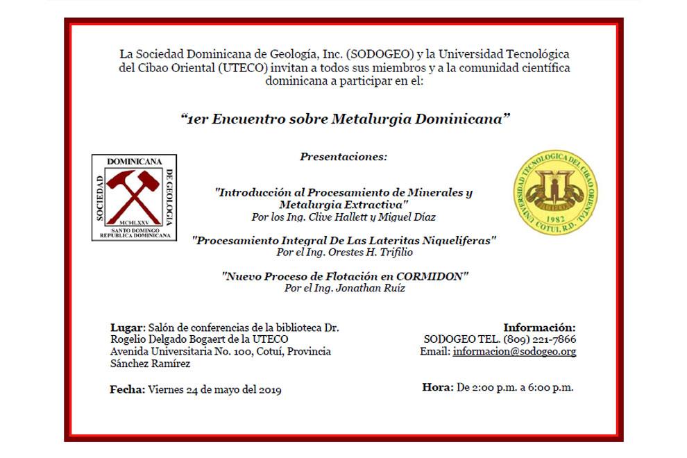 SODOGEO-INVITA-AL-1er-Encuentro-sobre-Metalurgia-Dominicana-24-mayo-2019