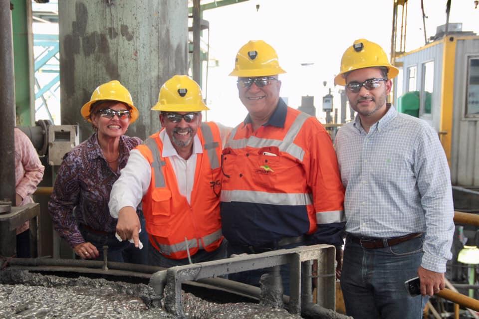 Visita a la mina de cobre CORMIDOM