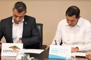 Corporación-Minera-Dominicana-firma-acuerdo-con-Fondo-de-Agua-para-recuperación-y-conservación-del-Río-Ozama